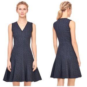 Rebecca Taylor Rose Stretch Jacquard Dress size 4